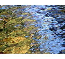Coloured Water 2 Photographic Print