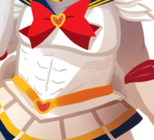 Sailor Senshi The Iron Bull Sticker