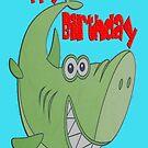 Green Shark Birthday  by martinspixs