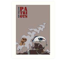 New England Patriots Art Print