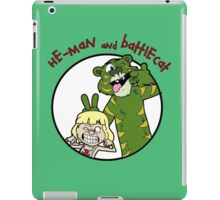 He-man and Battlecat iPad Case/Skin