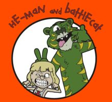 He-man and Battlecat Kids Tee