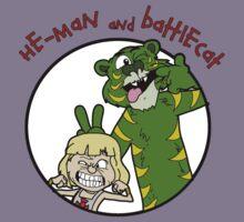 He-man and Battlecat Kids Tee