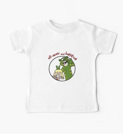 He-man and Battlecat Baby Tee