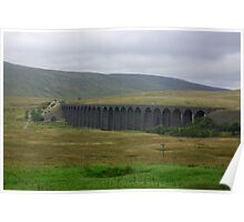 Another View of The Ribblehead Viaduct Poster