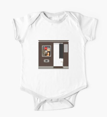 Modern Photobooth One Piece - Short Sleeve