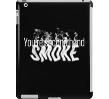 Fall Out Boy - You're second hand smoke iPad Case/Skin