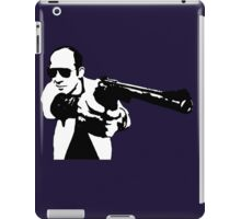 Hunter S Thompson - Gun - Large iPad Case/Skin