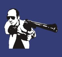 Hunter S Thompson - Gun - Large T-Shirt