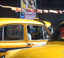 Calcutta cabs by Denky