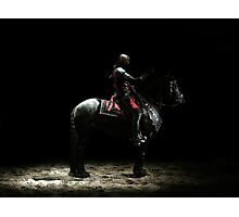 The Black Knight Photographic Print