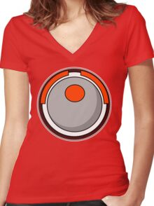 Dial Women's Fitted V-Neck T-Shirt