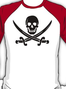 Pirate Logo (Black) T-Shirt