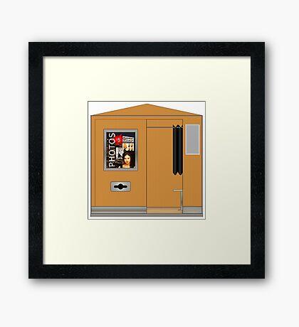 Digital Photobooth Framed Print