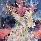 Ballroom Dancing Art Gallery - Waltzing Couple by Ballet Dance-Artist