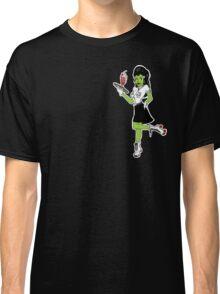 Undead 1: Roller Waitress Classic T-Shirt