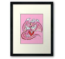 Valentine Dragon Framed Print