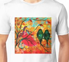 """ O free birds, proud, charming, pure, without troubles."" Unisex T-Shirt"