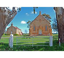 Old Churches Photographic Print