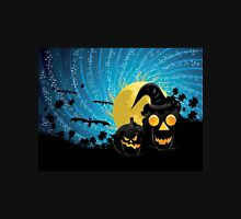 Halloween party background with pumpkins Unisex T-Shirt