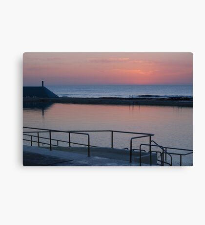 Dawn over Newcastle Baths Canvas Print