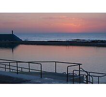 Dawn over Newcastle Baths Photographic Print