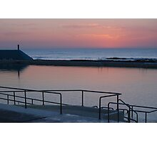 Dawn over Newcastle Baths Photographic Print