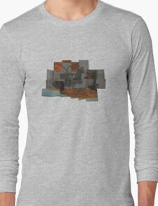 The Void 2 collage T Long Sleeve T-Shirt