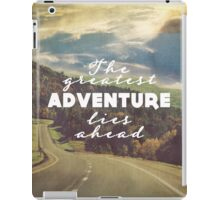 The Greatest Adventure iPad Case/Skin