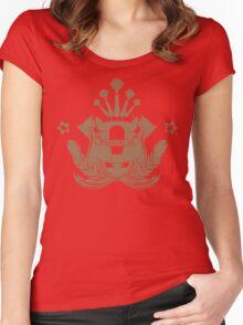 Barista Crest (darkt tees and hoodies) Women's Fitted Scoop T-Shirt