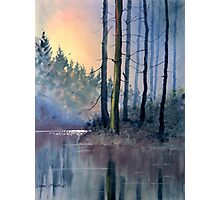 Lake Tranquility Photographic Print