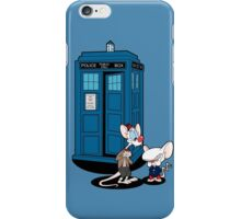 Gee Doctor What Are We Going To Do Tonight? iPhone Case/Skin