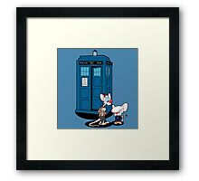 Gee Doctor What Are We Going To Do Tonight? Framed Print