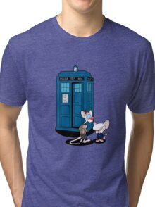 Gee Doctor What Are We Going To Do Tonight? Tri-blend T-Shirt