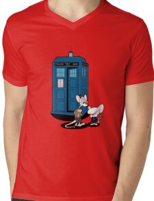 Gee Doctor What Are We Going To Do Tonight? Mens V-Neck T-Shirt