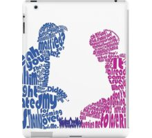Sixteen Candles Quoted Image  iPad Case/Skin