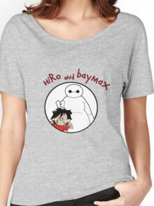 Hiro and Baymax Women's Relaxed Fit T-Shirt