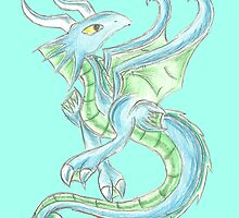 Water Dragon by KOKeefeArt