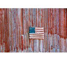 Rural Patriot Photographic Print