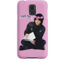 Gerard Way - Fuck You Flower Crowns  Samsung Galaxy Case/Skin