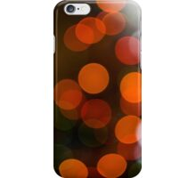 Bokeh of Christmas Tree 3 iPhone Case/Skin