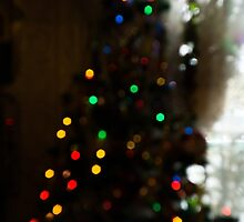 Bokeh of Christmas Tree 4 by AnnArtshock