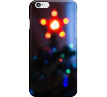 Bokeh of Christmas Tree 5 iPhone Case/Skin