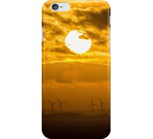 Bridlington Wind Farm iPhone Case/Skin