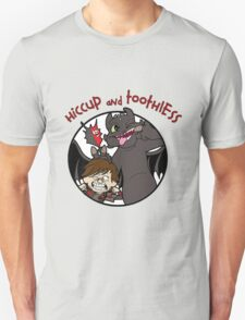 Hiccup and Toothless Unisex T-Shirt