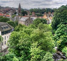 Dean Village View by Tom Gomez