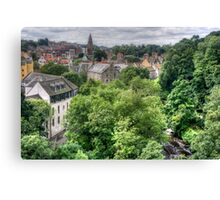 Dean Village View Canvas Print