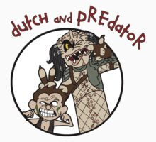 Dutch and Predator One Piece - Short Sleeve