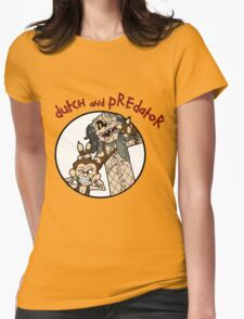 Dutch and Predator Womens Fitted T-Shirt