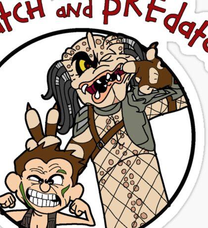Dutch and Predator Sticker